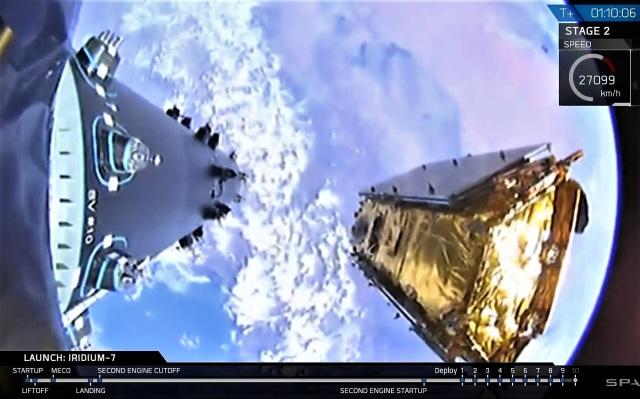 Satellite deployment