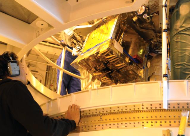 Launch Unit satellite