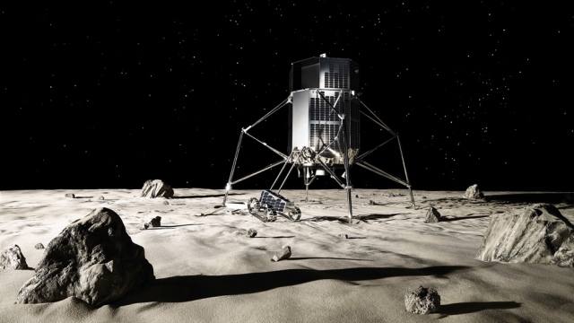 ispace lander and rover