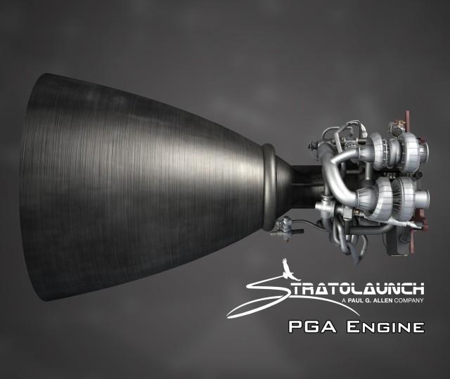 Stratolaunch PGA rocket engine