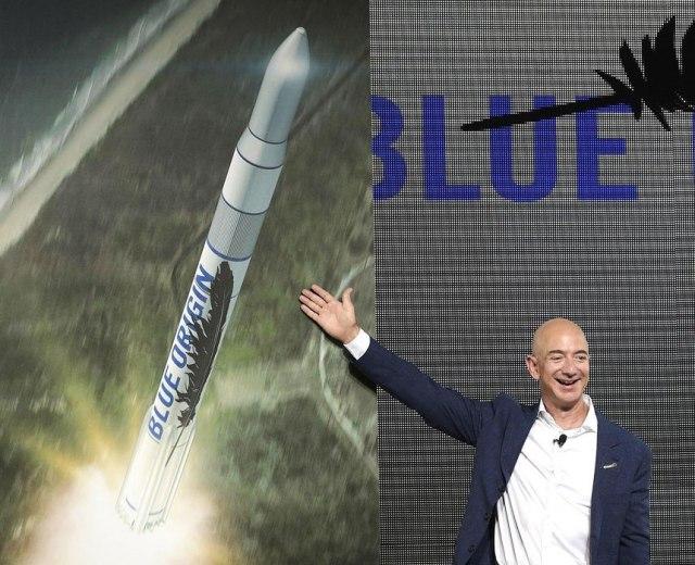 Jeff Bezos and New Glenn