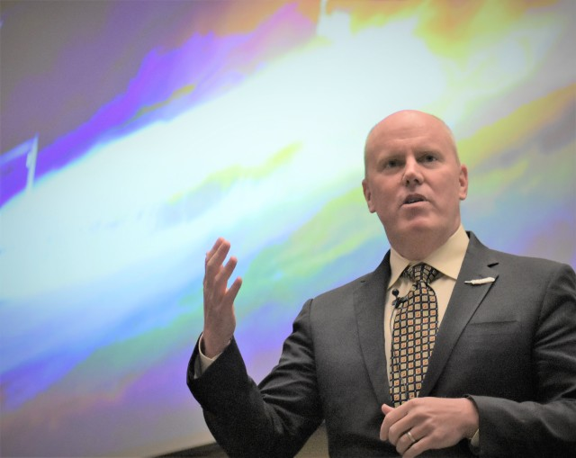 Blue Origin CEO Bob Smith