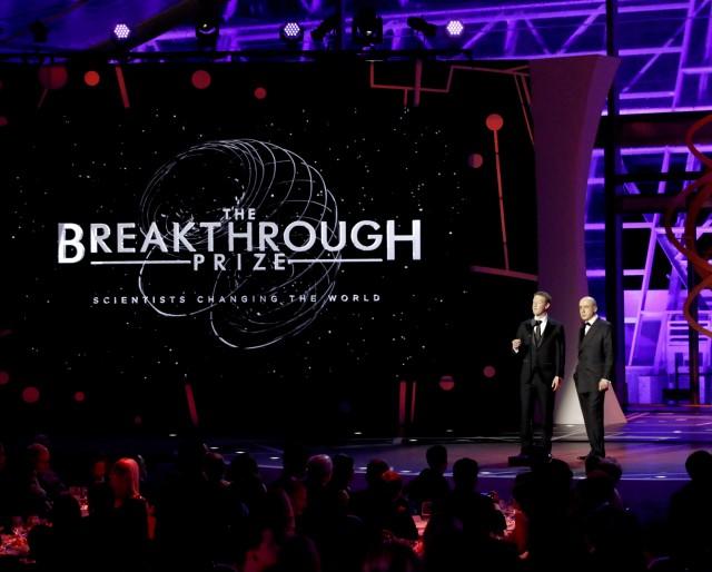 Breakthrough Prize ceremony