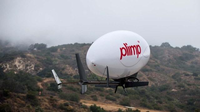 Plimp hybrid airship