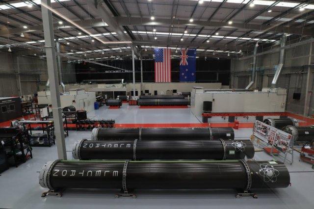 Rocket Lab factory