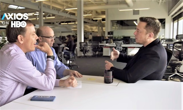 Axios Musk interview