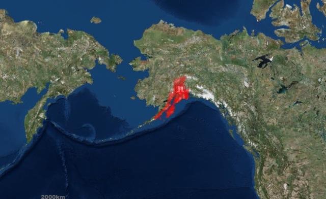 Tsunami hazard map