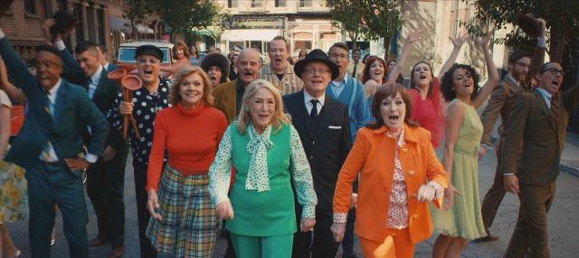 """Bathtubs Over Broadway"" cast"