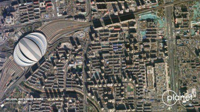 Beijing as seen by SkySat