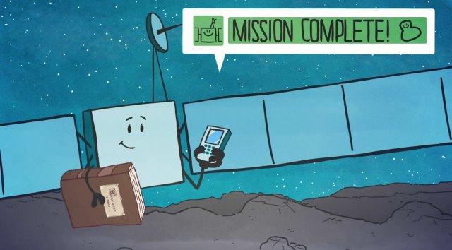 Rosetta cartoon