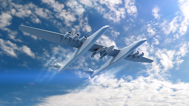 Stratolaunch with Orbital ATK rockets