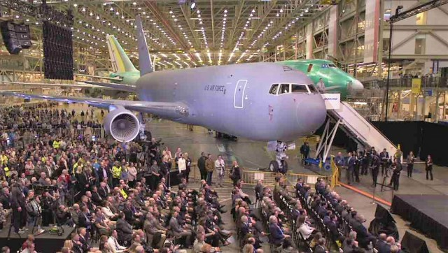 KC-46 tanker ceremony