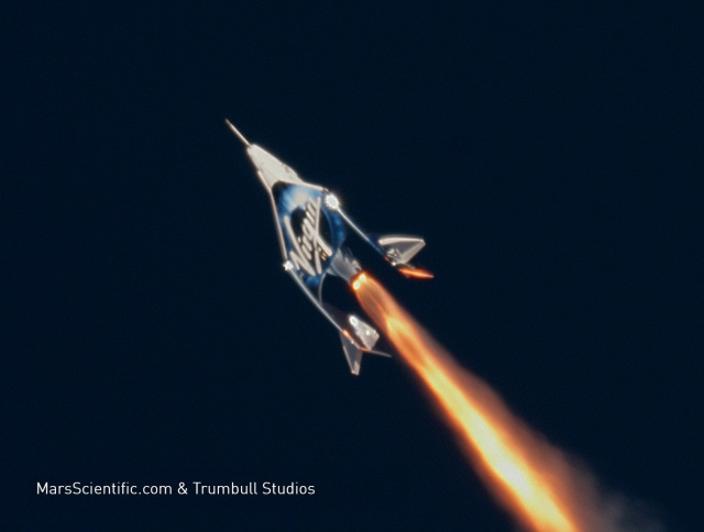 Virgin Galactic spaceflight