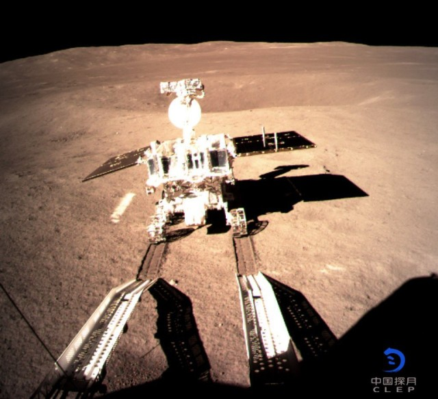 Yutu 2 on lunar surface