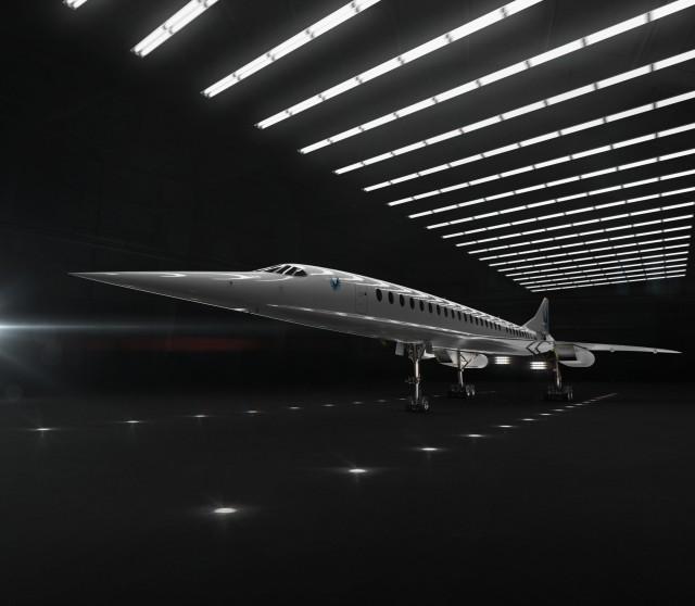 Boom Supersonic jet