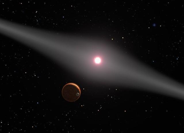 AU Microscopii with planet