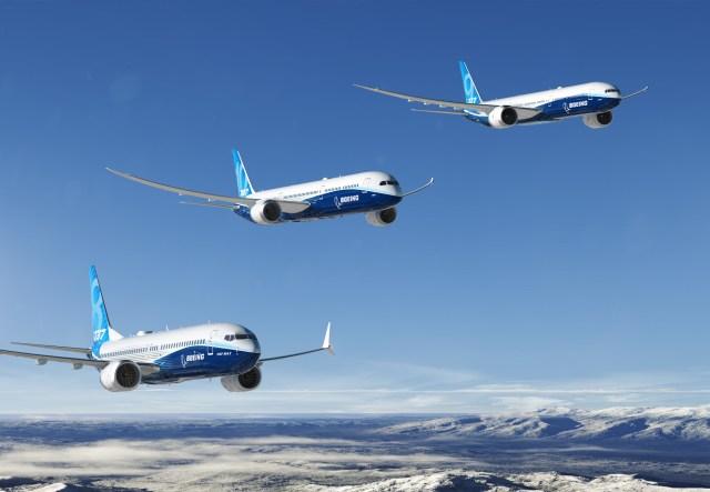 Boeing 737 jets