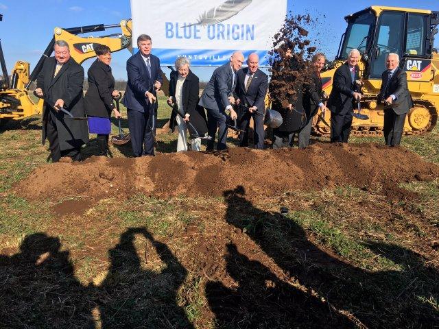 Blue Origin groundbreaking