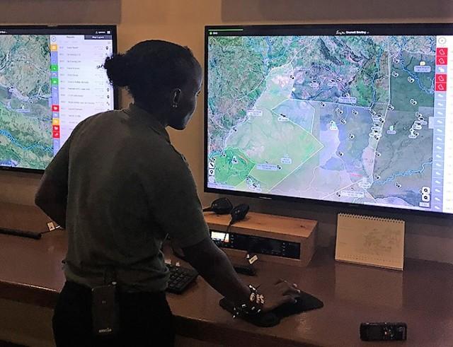 EarthRanger monitoring
