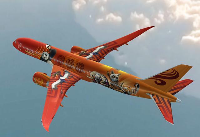 Dreamliner color scheme
