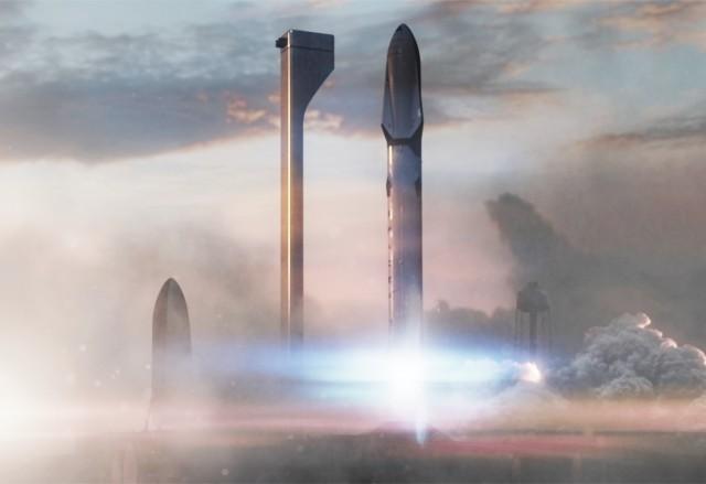 Mars rocket