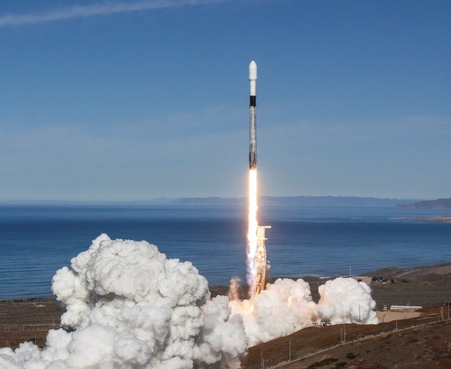 SpaceX Falcon SSO-A launch