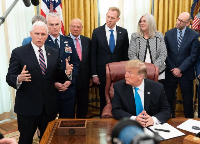Oval Office signing
