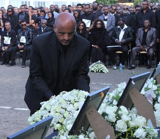 Ethiopian memorial service
