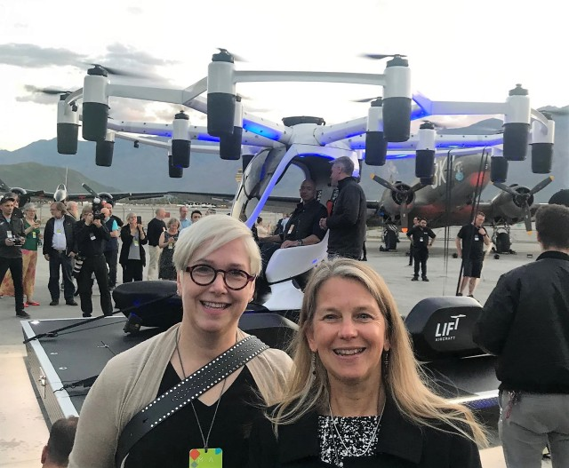 Lindy Elkins-Tanton and Dava Newman