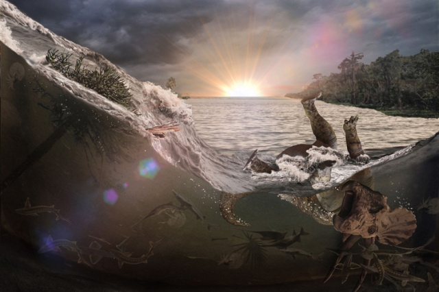 Cretaceous inundation