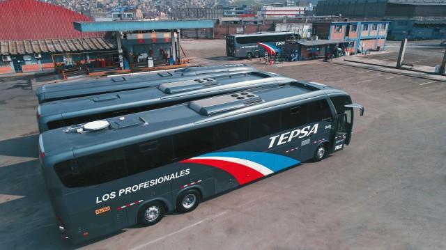 'SmartBus' buses in Peru
