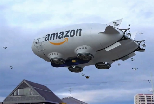 Amazon fake blimp