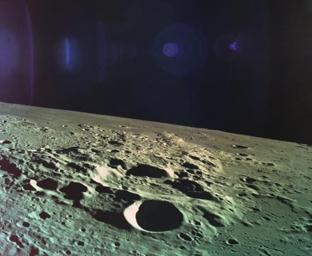 Beresheet view of moon