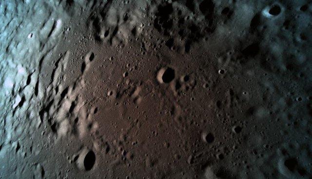 Moon view from Beresheet