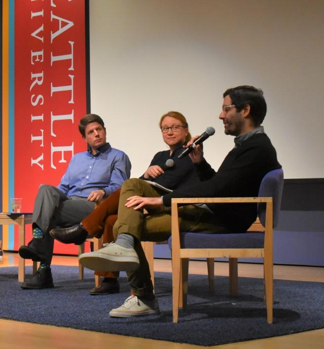 AI ethics panel