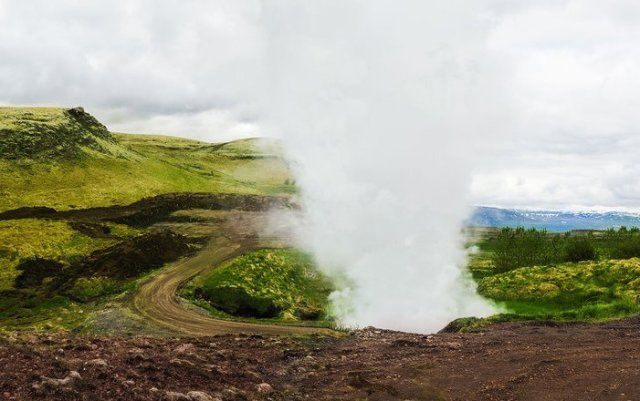 Iceland geothermal energy