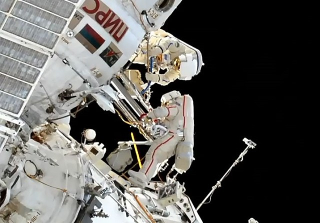 Russian spacewalkers