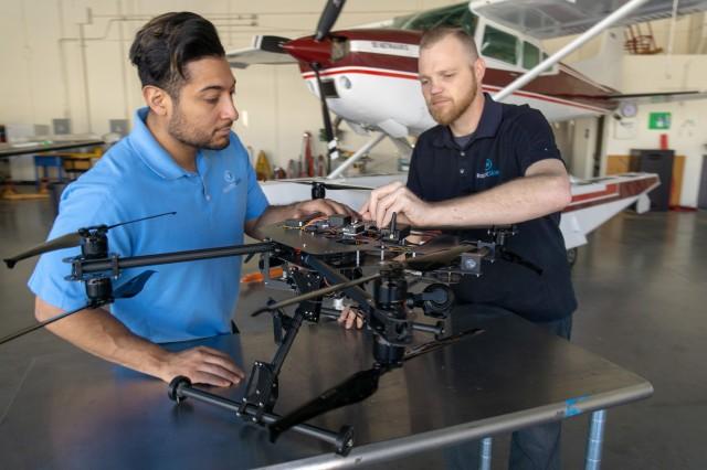 Robotic Skies engineers