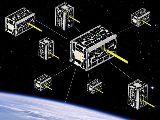 Satellite swarm
