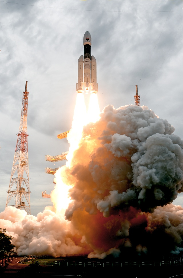 India GSLV rocket launch