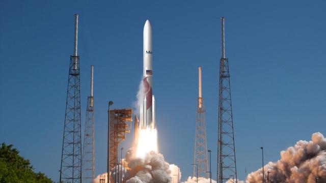 Vulcan rocket illustration