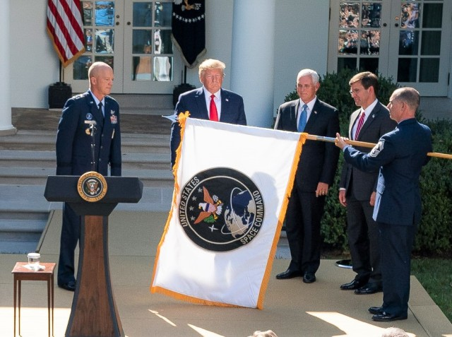 Space Command ceremony
