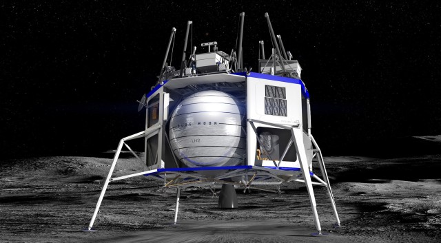 Blue Moon lunar lander