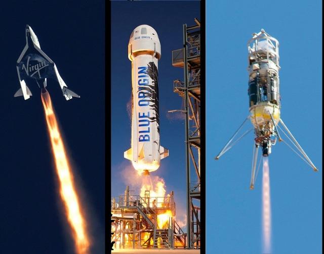 Suborbital rocket ships