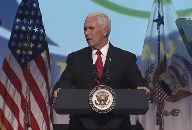 VP Mike Pence at IAC
