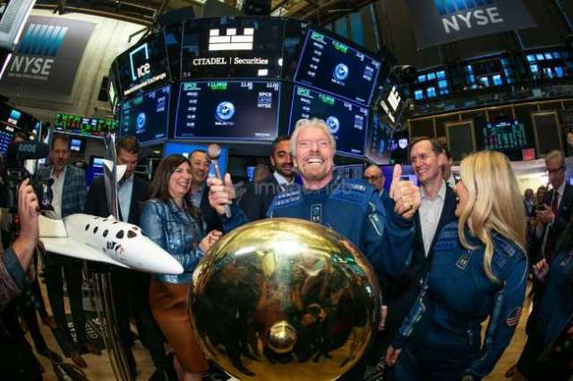 Virgin Galactic at NYSE