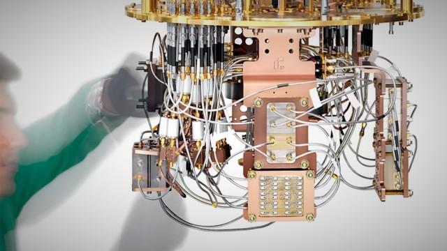 Rigetti quantum cryostat