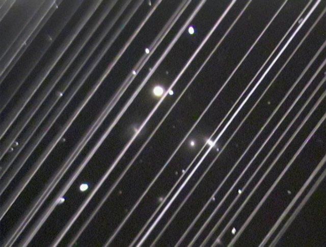 Starlink streaks