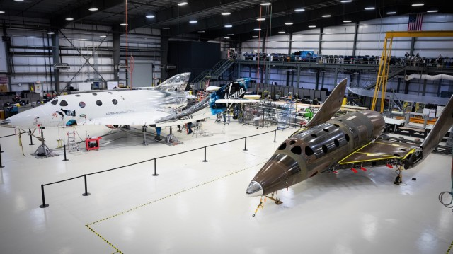 VSS Unity and next SpaceShipTwo