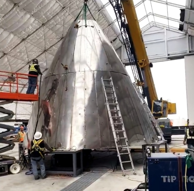 SpaceX Starship nosecone